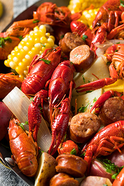 crawfish seafood boil
